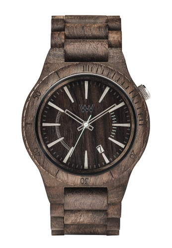 WEWOOD brown Assunt Choco Rough Watch 46mm 20128ACB929E3BGS_1