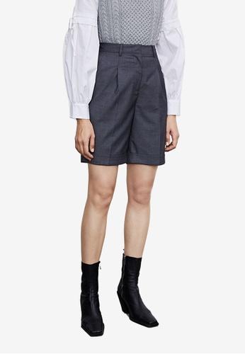 URBAN REVIVO grey Casual Shorts 89549AAC69EDE1GS_1