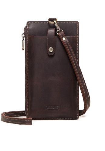 Twenty Eight Shoes Zip Buckle Leather Phone Bag BP-DG1009 D02BCACC02D738GS_1