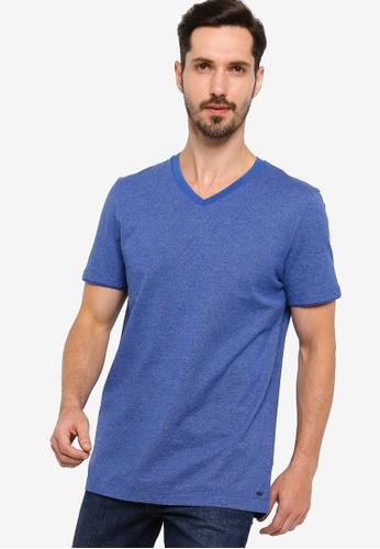 BOSS 藍色 Teal 19 Tee D621EAAE1E98C4GS_1