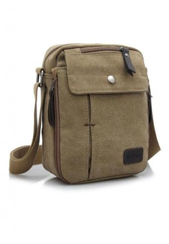 Lemon Cotton brown Korean Traveller's Bag   LE248AC78WQBPH_1
