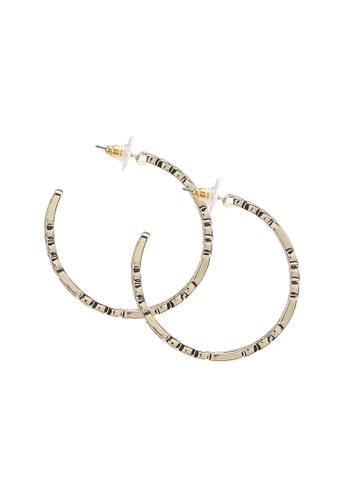 ALDO gold Legalerith Pierced Earrings 1C38CAC3227883GS_1