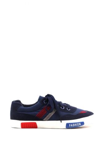 New York Sneakers navy Brantz Low Cut Shoes 1D88DSHB867D2EGS_1
