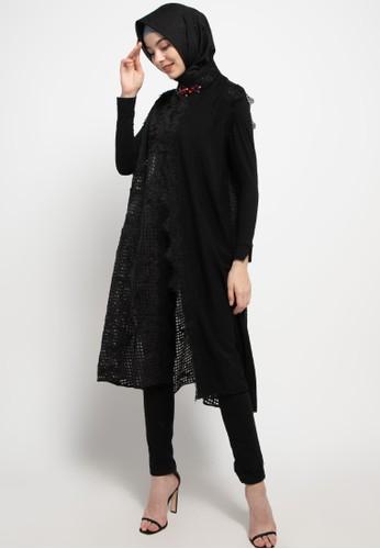LUIRE by Raden Sirait black Ms Coat Monic Midi Kensi Top BB420AAF3B7598GS_1