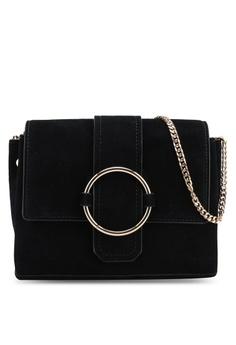 d3ef3c8afb Mango black Ring Leather Bag 28C64AC27BD1C9GS 1