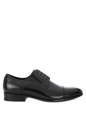 Sledgers black Paris Formal Toe-cap Oxford E3F1DSHAABAD11GS_1