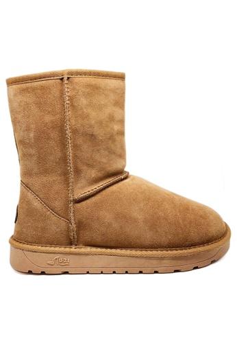 Twenty Eight Shoes 真皮經典中桶雪地靴UUD02 81425SHB4EEE3CGS_1