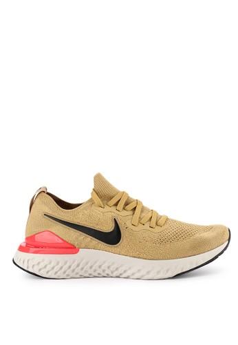 Nike yellow Nike Epic React Flyknit 2 Shoes F7EA6SHD4D5929GS_1