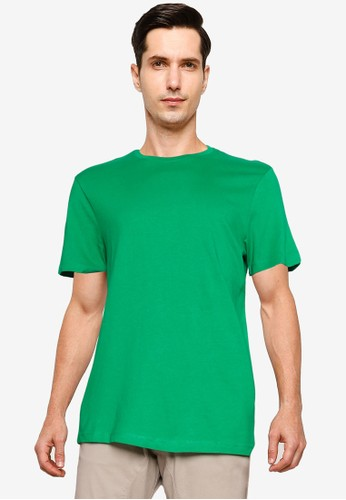 OVS green Round Neckline T-Shirt AAD75AA425BEADGS_1