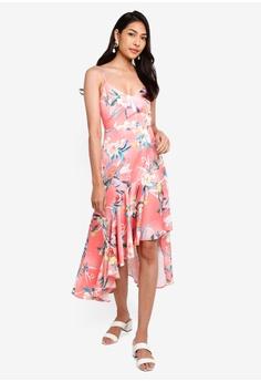 e686fcb6a2 Lipsy pink High Low Coral Ashley Cami Dress 97BDAAA4EAF0CDGS_1