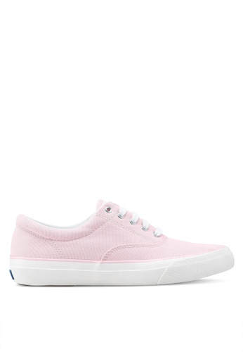 Keds pink Anchor Chambray Sneakers KE942SH0STEYMY_1