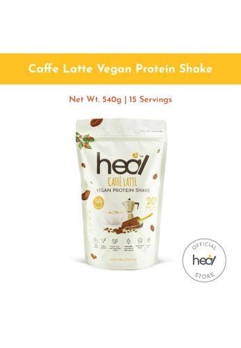 Heal Nutrition multi Heal Caffe Latte Vegan Pea Protein Shake Plant Based Powder 15 Servings Pack HALAL- Suitable for Muscle Gain , Diet 89197SEC7C9C75GS_1