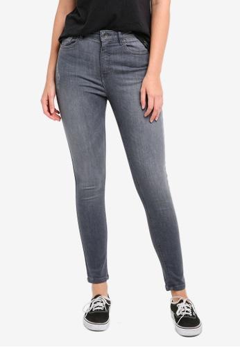 Superdry grey Sophia High Waist Super Skinny Jeans SU137AA0T21WMY_1