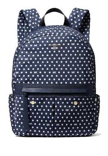 Michael Kors blue MICHAEL Michael Kors Prescott Medium Backpack 0712CACF0D3DC2GS_1
