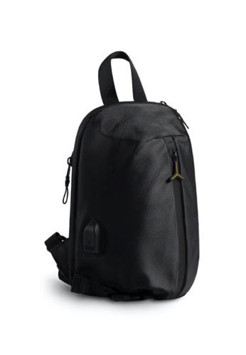 Lamborghini black Automobili Lamborghini® Galleria Black Single Handle Bodybag A00ABAC4CECB4FGS_1