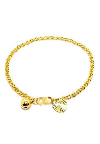 KLF KLF Lycenum Ladies Gold Plated Bracelet KL134AC0RNVXMY_1