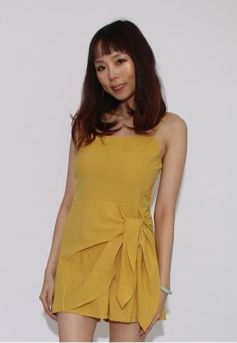 Seoul in Love yellow Jonbo jumpsuit in yellow EB69FAAC5FB206GS_1