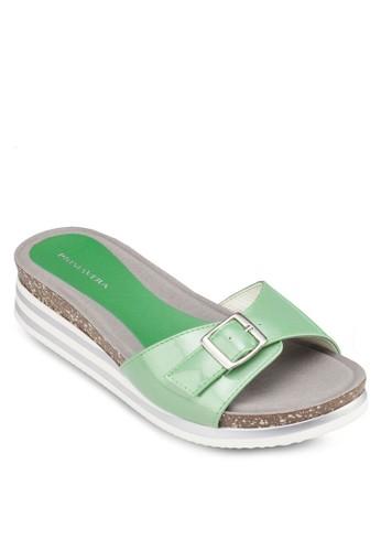 Jello 夾zalora開箱腳厚底涼鞋, 女鞋, 涼鞋