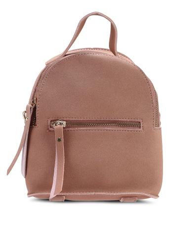 Berrybenka pink Sui Catsep Backpack 42AF7ACB2E6F72GS_1