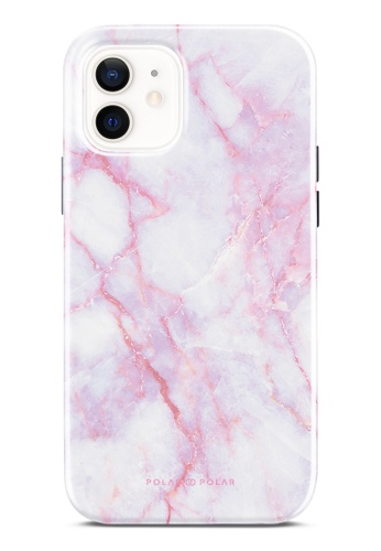 Polar Polar pink Pink White Dual-Layer Tough Case Glossy For iPhone 12 Pro / iPhone 12 6BD8BAC6212BC3GS_1
