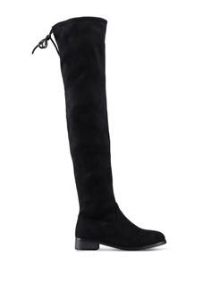 Twenty Eight Shoes black Skinny Over Knee Long Boots 874BFSHC9F51DEGS 1 2aa0831ff2