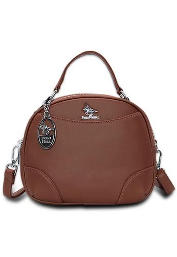 Polo Hill brown Polo Hill Opal Crossbody Sling Bag 431F6AC2BF7E47GS_1