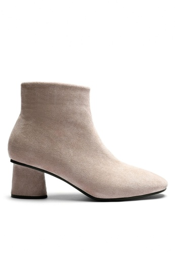 Twenty Eight Shoes 猄布踝靴598-1 0C214SH51CE306GS_1
