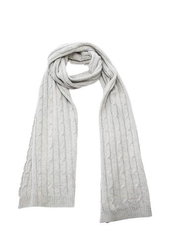 坑條紐繩保暖圍巾 - 夾花灰, 飾品配件esprit地址, 披肩