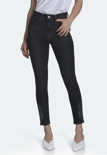 Levi's black Levi's 721 High Rise Skinny Ankle Jeans 22850-0053 23E1EAA3288142GS_1