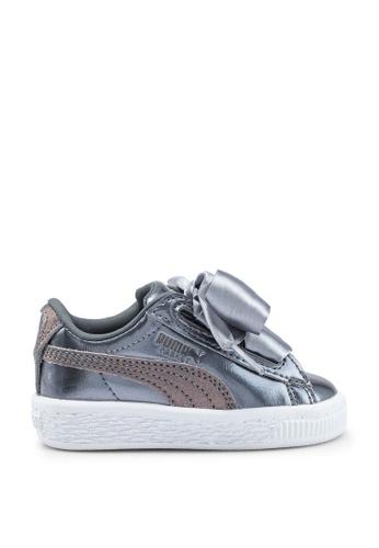 quality design 87362 3e1ec Sportstyle Core Basket Heart Lunar Lux Infant Sneakers
