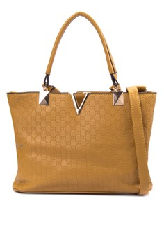 Sicily Top Handle Bag with Sling Straps