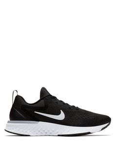 Nike black and grey and white Women's Nike Odyssey React Running Shoes  8A909SHCF77295GS_1