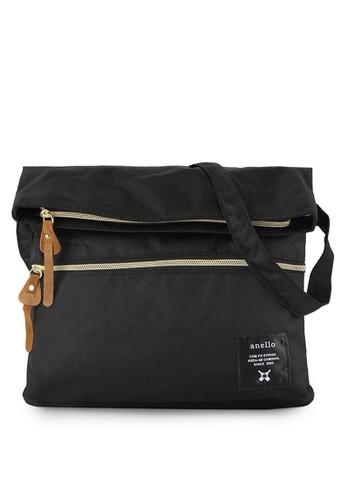 Anello black Fold-Over Shoulder Bag AN804AC58VYRID_1