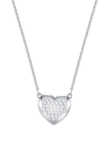 Swarovski silver Hall Heart Pendant Necklace 9A5F6ACCB2217AGS_1