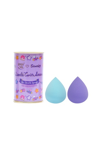 Happy Skin blue Sanrio Sponge Duo 3-Way Makeup Blending Tool HA428BE0J5R2PH_1