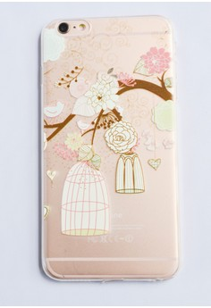 Branch and a Bird Cage Soft Case for iPhone 6 plus/ 6s plus