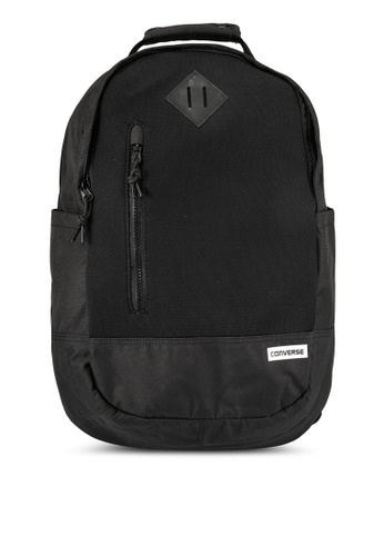 Converse black Seasonal Mesh Material Backpack CO302AC0RZZ2MY_1