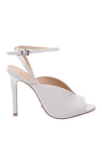 SCHUTZ white SCHUTZ Strap Sandal - HAILEY (PEARL) 98349SHB7B502FGS_1