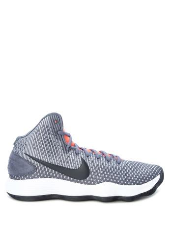 Nike grey Men's Nike Hyperdunk 2017 Basketball Shoes NI126SH0K8CAPH_1