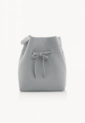 Pomelo blue Bow Open Tote Bag - Blue 844FBAC0E1139FGS_1