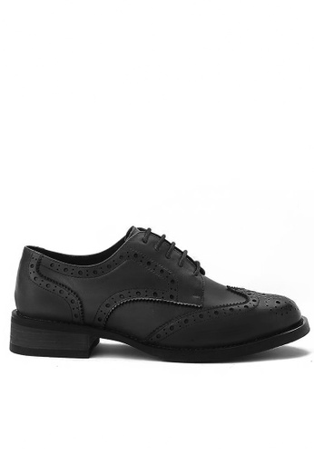 Twenty Eight Shoes black Cow Leather Brogue 1870 90F88SHD6F14DAGS_1