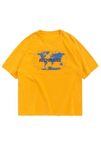 Twenty Eight Shoes Trend Printed Short T-shirt 1247S20 68342AA1885C5CGS_1