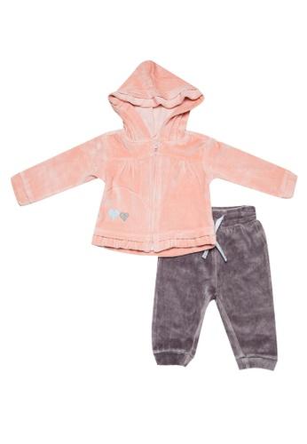 Babybol pink Baby's 3 Pcs Set B898BKABC2353DGS_1