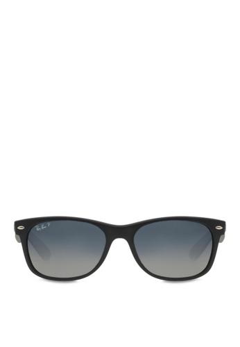 56e129ebd Buy Ray-Ban New Wayfarer RB2132 Polarized Sunglasses Online | ZALORA ...