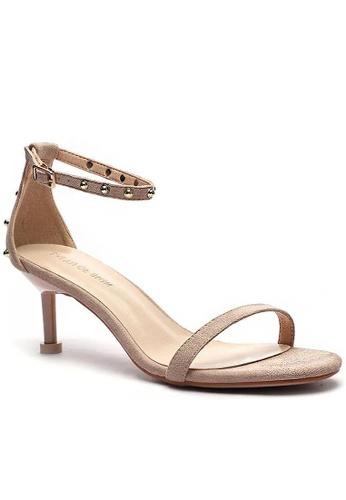 Twenty Eight Shoes Stud Textile Heels Sandals 365-9 7F862SH5176539GS_1