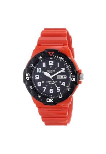 Casio orange CASIO GENERAL MRW-200HC-4BVDF UNISEX'S WATCH 03F5DACA544917GS_1