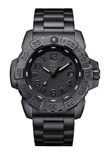 Luminox black Luminox Navy Seal Steel Blackout Stainless Steel Watch EF551AC2351AACGS_1