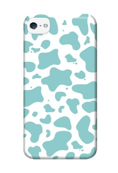 Paint Spill Glossy Hard Case for iPhone 4,4s