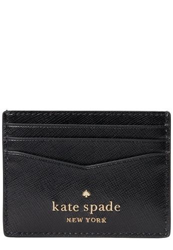 Kate Spade black Kate Spade Staci Small Slim Card Holder in Black 16B12AC2843F49GS_1