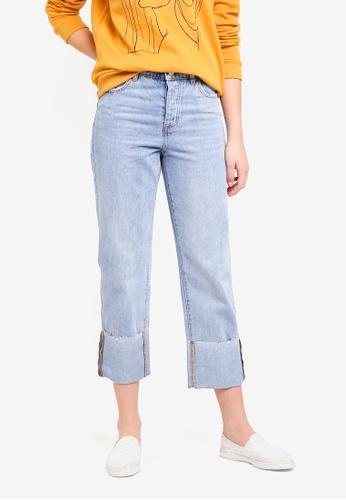 7e03ecfea69e66 Shop Cotton On Baggy Boyfriend Jeans Online on ZALORA Philippines